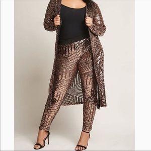 Pants - Black and good sequin leggings